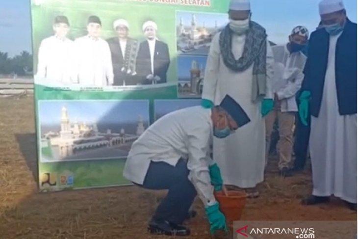 Video - Mesjid Islamic Center Kabupaten HSS ditargetkan paling lama selesai tahun 2022