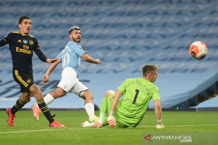 City libas Arsenal 3-0 di Etihad