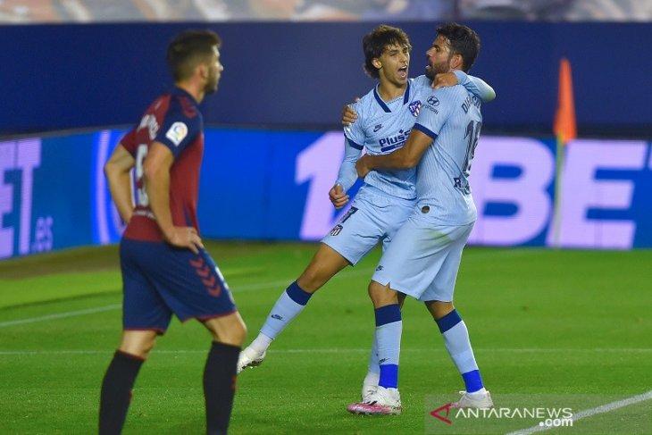 Atletico pesta gol ke gawang Osasuna