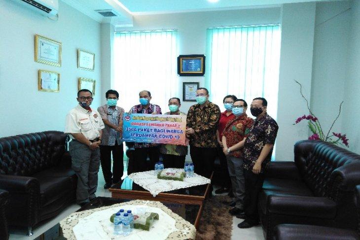 Gugus Tugas COVID-19 terima bantuan 3.500 paket sembako dari  GM3T