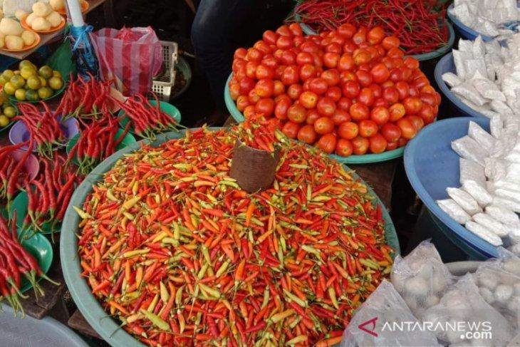 Harga cabai di pasar tradisional Ambon turun
