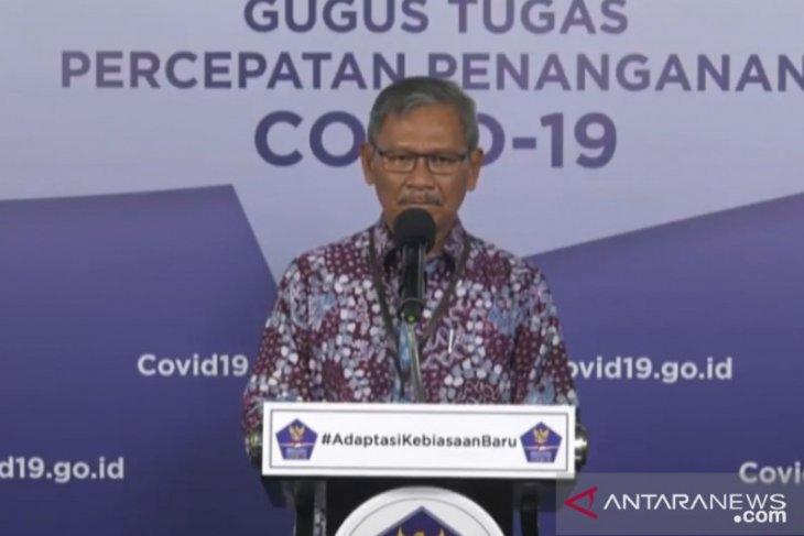 Jubir pemerintah: Pasien sembuh dari COVID-19 bertambah 555 jadi 16.798 orang