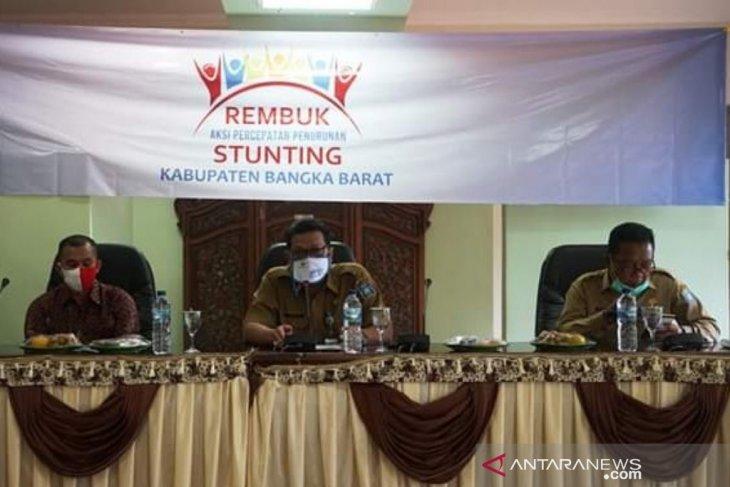 Pemkab Bangka Barat susun aksi penanggulangan kasus stunting