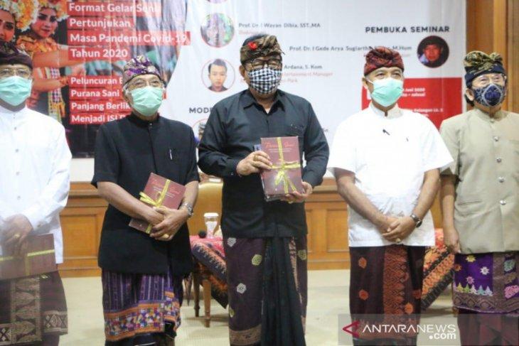 Wagub Bali minta ISI Denpasar rumuskan protokol pertunjukan seni