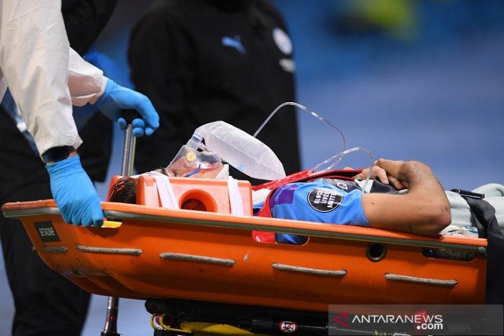 Bek City Eric Garcia tinggalkan rumah sakit setelah benturan mengerikan