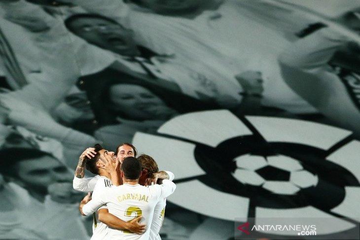 Real Madrid dekati Barcelona di puncak klasemen Liga Spanyol