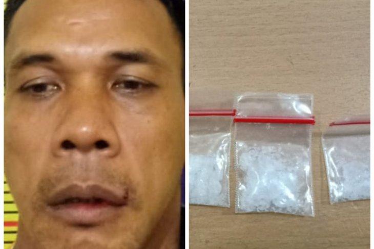 Edi Siswanto warga Tanjung Pura miliki sabu-sabu ditangkap Polres Langkat