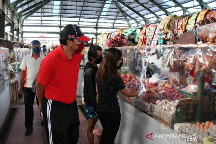 Dinas Perdagangan Bali pantau pasar untuk cegah penularan COVID-19