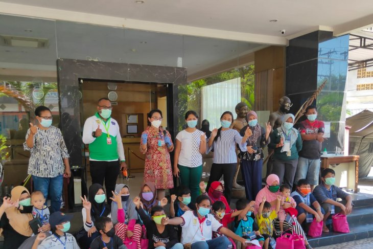 COVID-19 recoveries in Jayapura comprise 15 children, one adult