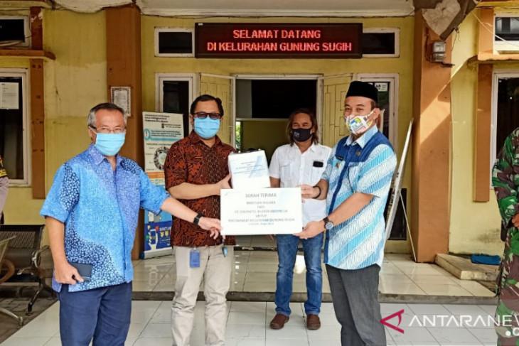 PT SRI donasikan ribuan masker kepada warga Gunung Sugih Cilegon