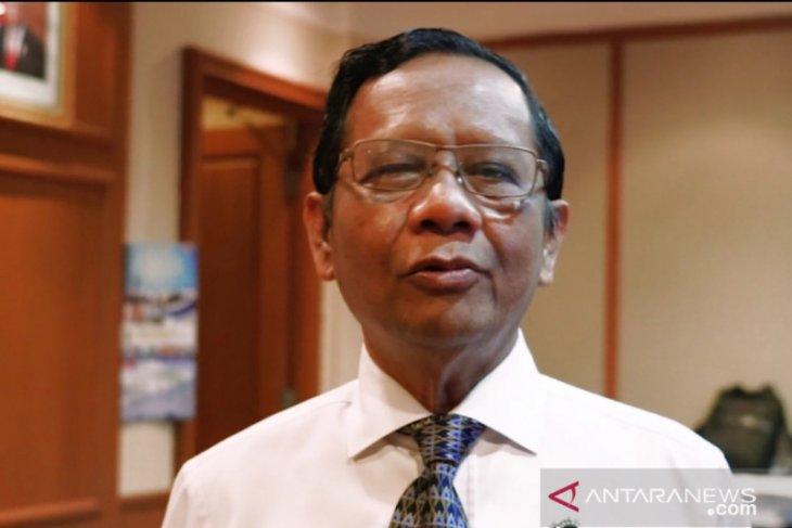 Mahfud Presiden sambut positif masukan purnawirawan TNI-Polri