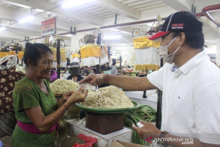 Dinas Perdagangan Bali sidak tiga pasar di Badung terkait COVID-19