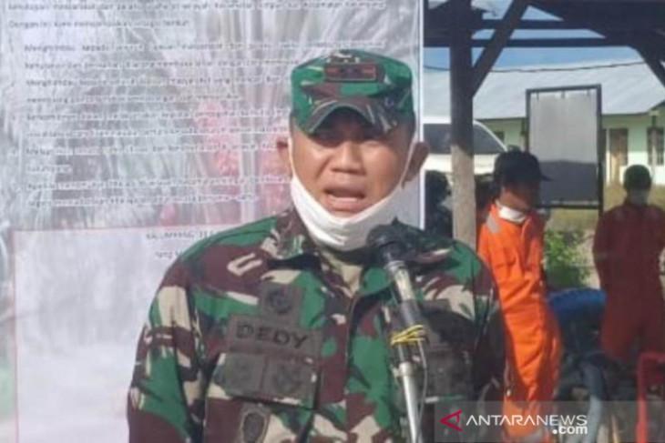 Dandim Kandangan : TNI dan Polri tidak akan hanya mendukung, tapi garda terdepan atasi karhutla