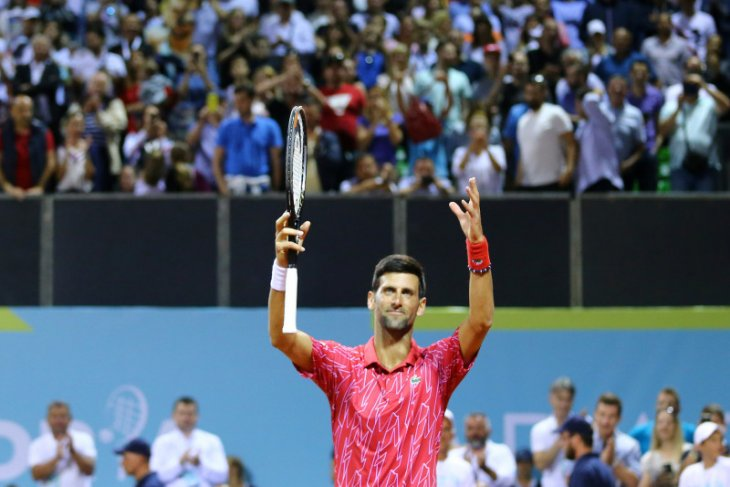 Djokovic ke final turnamen di Kroasia