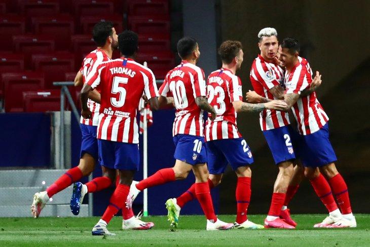 Atletico Madrid ke peringkat tiga setelah kalahkan Valladolid