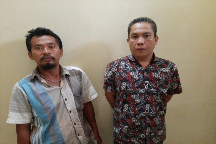 Polsek Binjai Timur amankan dua pelaku pembawa senjata tajam di Jalan Trorb