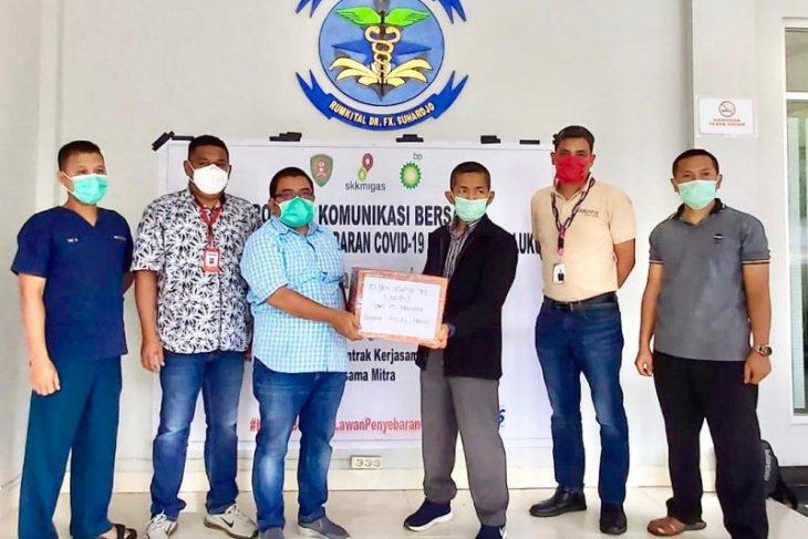 SKK Migas-industri hulu serahkan 500 alat tes cepat untuk Pemprov Maluku
