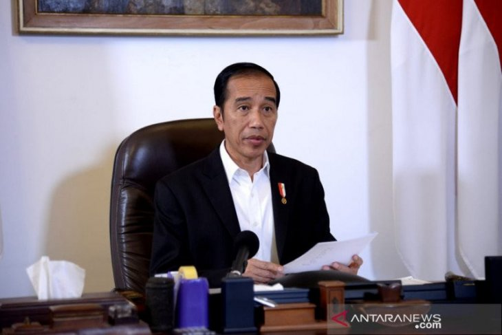 Jokowi minta penegakkan hukum karhutla ditindak tegas tanpa kompromi