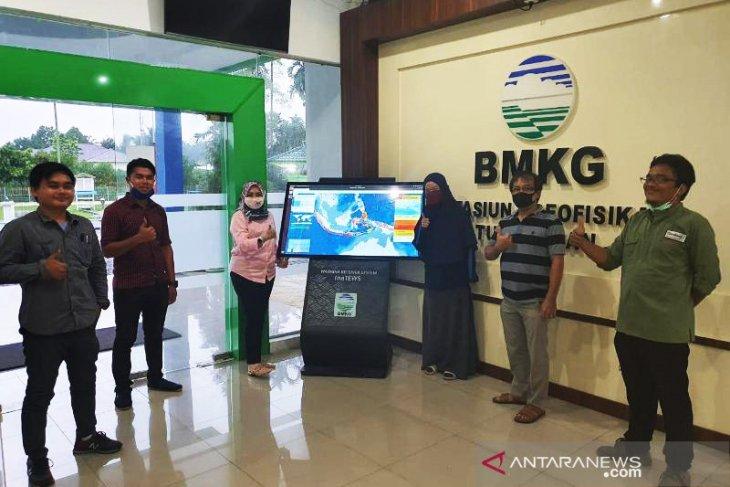 Alat peringatan dini gempa-tsunami dipasang di Deliserdang