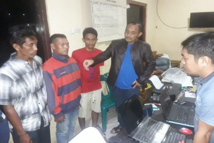 Polisi Selesai Binjai amankan tiga warga Langkat miliki sabu-sabu