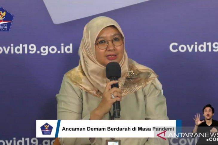 Kemenkes: Penambahan hingga 500 kasus DBD per hari di Indonesia