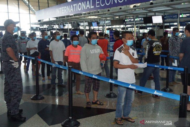 450 WNI tahanan Imigrasi Malaysia  dideportasi