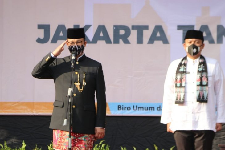 Atmosphere of Jakarta's anniversary celebrations different this year