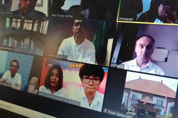 WNA Selandia Baru diadili di Denpasar karena narkotika