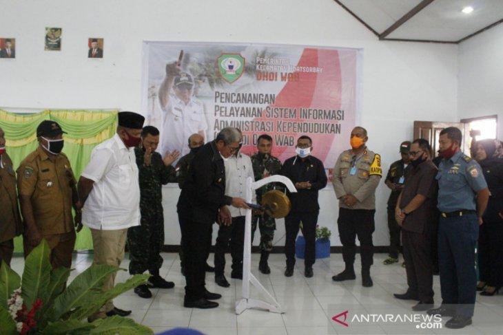 Wab desa pertama di Maluku terapkan pelayanan SIAK manfaatkan internet
