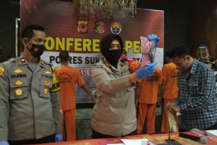 Polisi Sukabumi berhasil ungkap sindikat pencuri spesialis kendaraan bermotor (video)