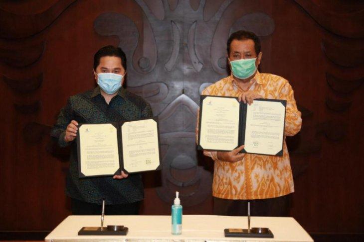 UI-Kementerian BUMN berkolaboraasi dalam pelaksanaan Tri Dharma Perguruan Tinggi