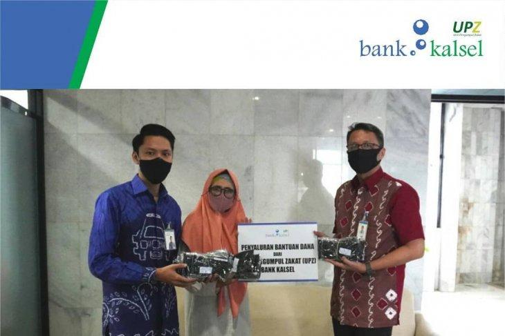 UPZ Bank Kalsel serahkan bantuan biaya hidup anak yatim