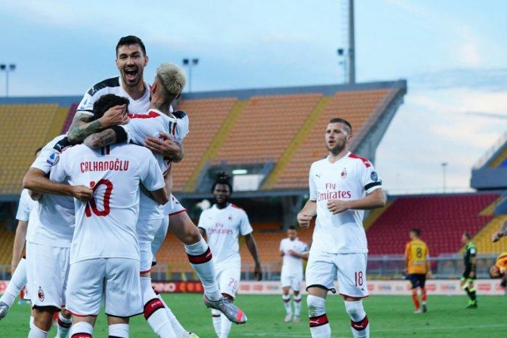 Milan buka penampilan di Liga Italia bungkam Lecce  4-1