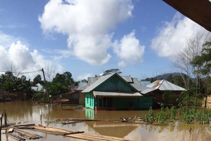 Tiga desa di Konawe Utara, Sultra masih terisolasi akibat banjir