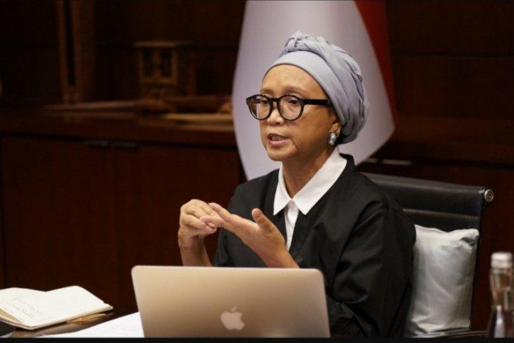 Menlu: Indonesia tingkatkan bantuan kemanusiaan untuk Palestina tahun ini