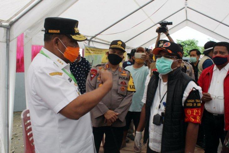 Gubernur Maluku apresiasi masyarakat Ambon dan Malteng karena patuhi PSBB