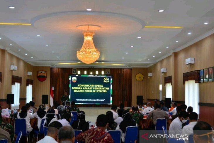 Kodim 0212 gelar komunikasi sosial bersama aparat pemerintah