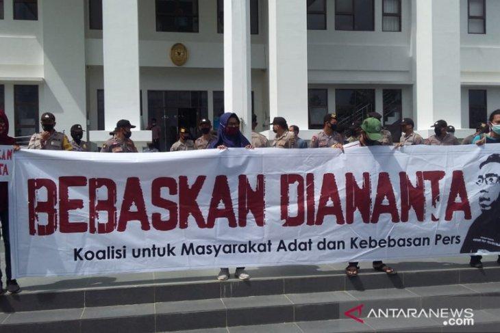 Aktivis: Kasus Diananta Putera sudah selesai di Dewan Pers