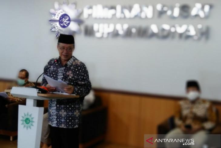 Muhammadiyah tak rekomendasikan shalat Idul Adha di lapangan-masjid