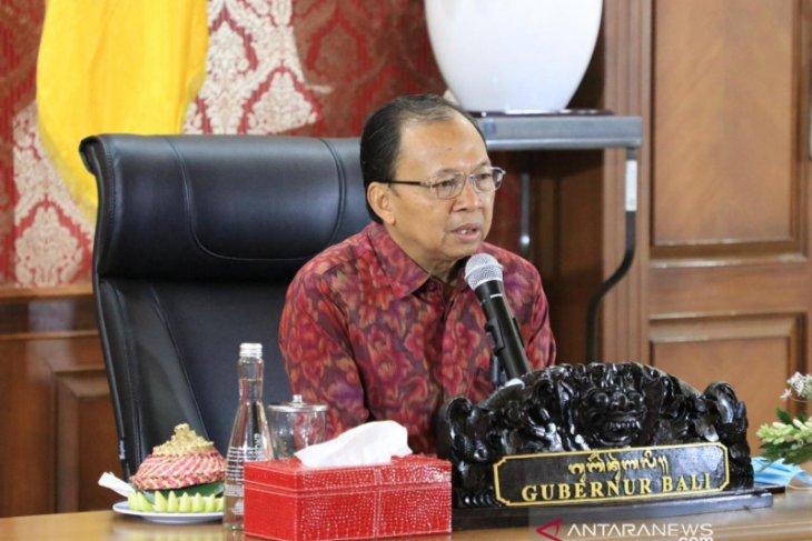 Gubernur Bali ikuti Rakor KPK  lewat
