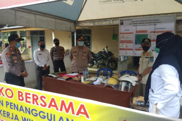 Satgas COVID-19 Bangka Belitung aktifkan 393 Kampung Tegep Mandiri