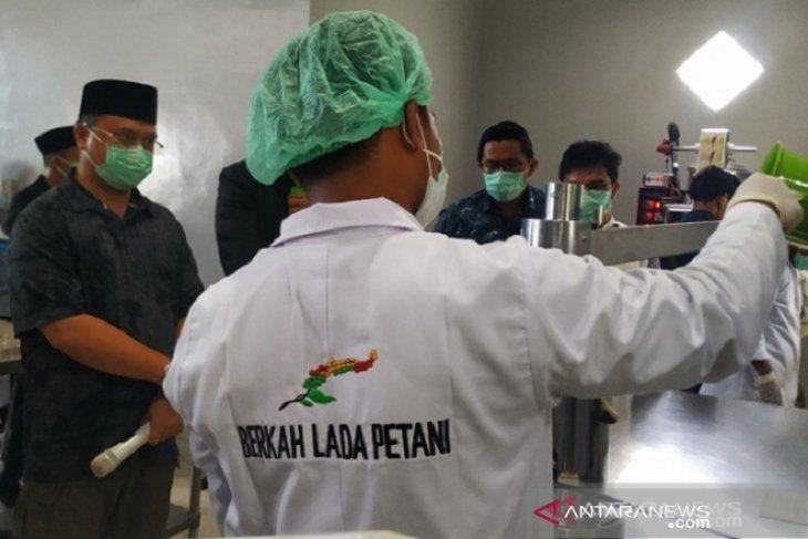 Pemprov Bangka Belitung ajukan lada putih sebagai produk nasional