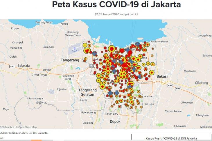 Jakarta registers 195 fresh COVID-19 cases on Thursday