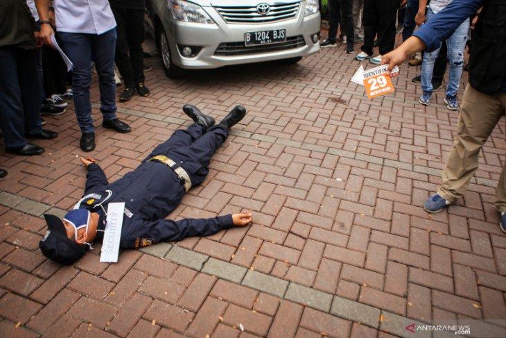 Polda Metro rampungkan prarekonstruksi pembunuhan berencana oleh John Kei dengan 43 adegan