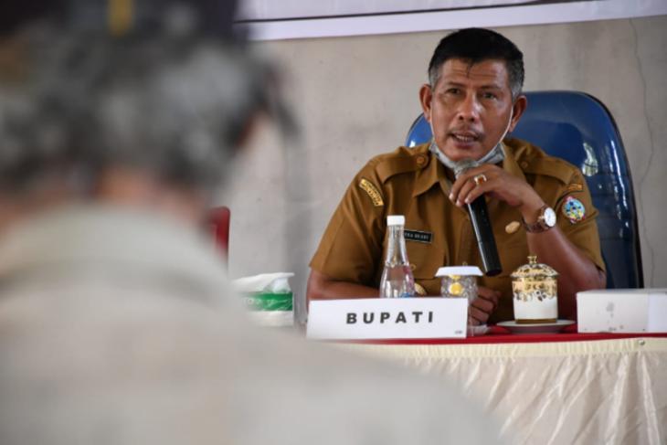 Bupati Citra: pemberian bantuan COVID-19 masih tunggu kebijakan pusat