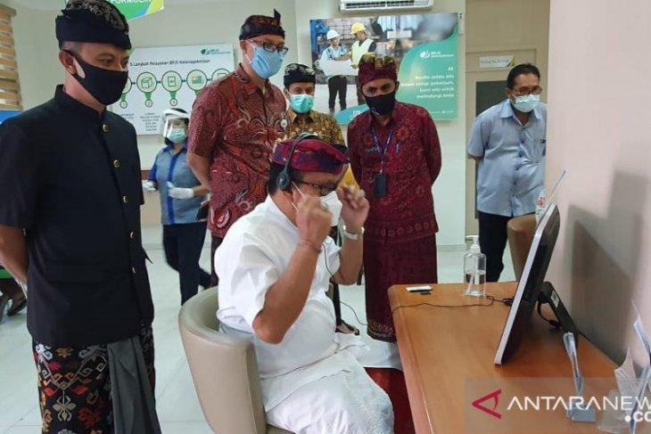 Sekda Denpasar-Ombudsman cek protokol kesehatan di BPJAMSOSTEK