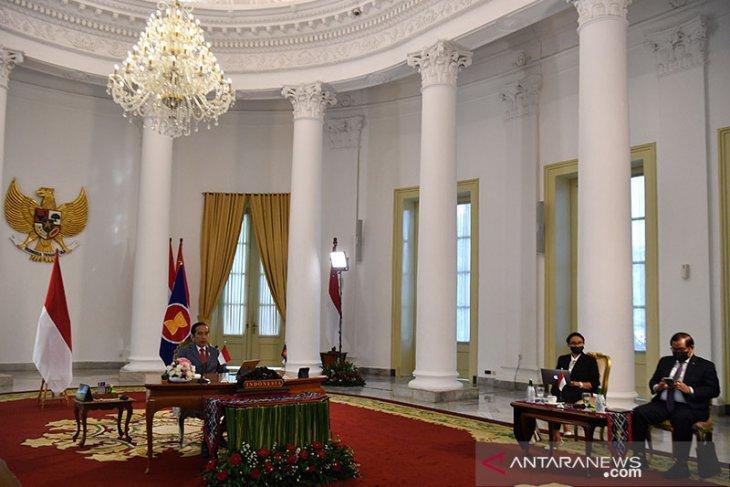 Presiden Jokowi ajak pemimpin ASEAN perkuat kemitraan di tengah pesimisme