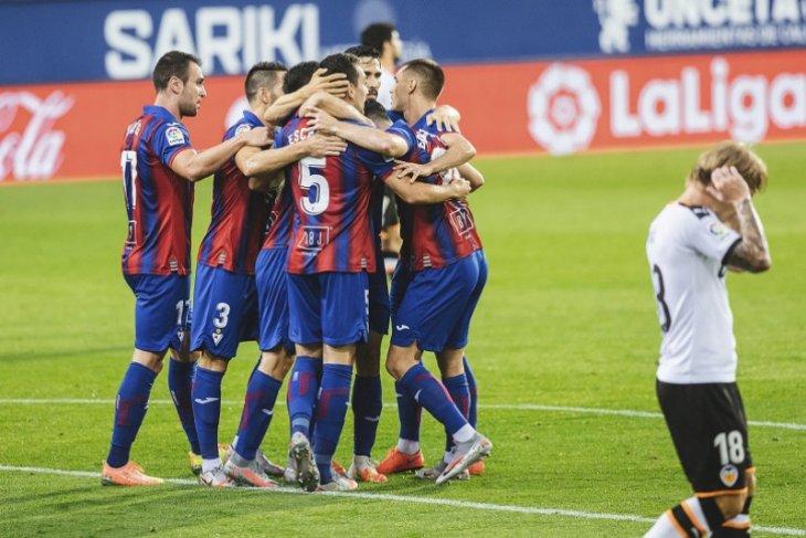 Liga Spanyol, Valencia tersungkur di markas Eibar gara-gara gol bunuh diri