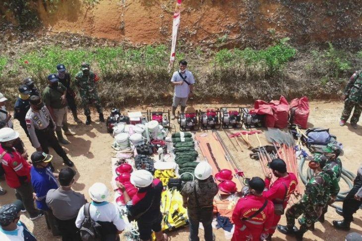Perusahaan sawit Kencana group gelar apel siaga pengendalian Karhutla