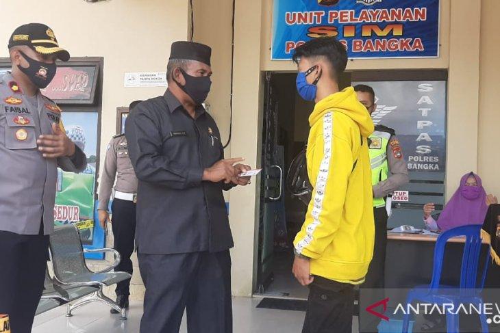 Ketua DPRD Bangka apresiasi pemberian SIM gratis